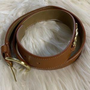 Talbots Brown belt